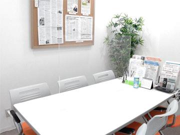 面談室のパーテイション